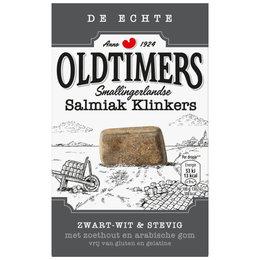 Oldtimers Zwart-Wit Salmiak Klinkers (Grey)