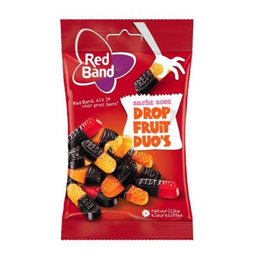 Red Band Licorice and Fruit Duo 166g
