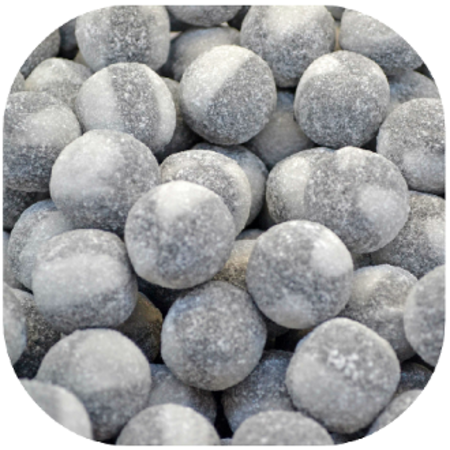 Rocket Salmiak Balls