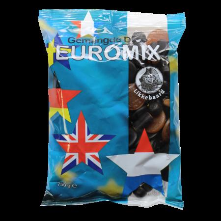 Likkebaard Euro Mix 750g