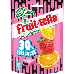 Fruittella Fruit and Licorice 30% Less Sugar 120g