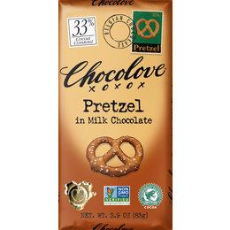 Chocolove Chocolove Pretzel 33% Milk Chocolate