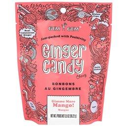 Gem Gem Ginger Candy Mango 100g