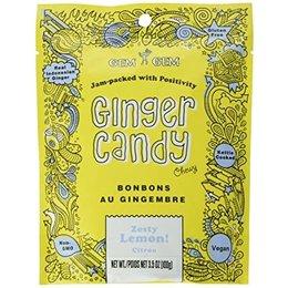 Gem Gem Ginger Candy Lemon 100g