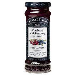 St. Dalfour Cranberry & Blueberry Jam 225ml
