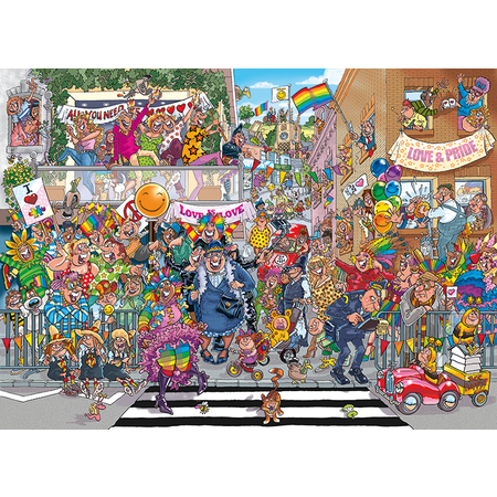 A piece of Pride Puzzle 1000pc Wasgij