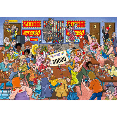Bingo Blunder Puzzle 1000pc Wasgij