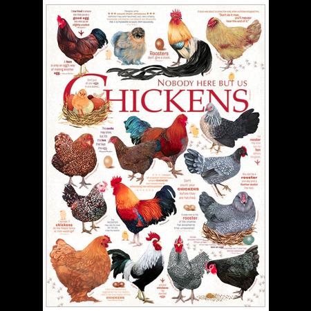 Chicken Quotes Puzzle 1000pc