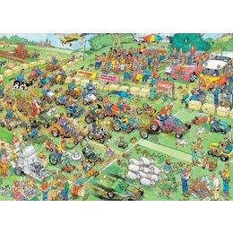 Lawn Mower Race Puzzle 1000pc