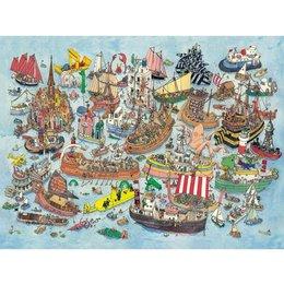 Regatta, Adolfsson Puzzle 1500pc