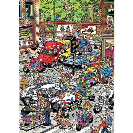 Scooter Scramble Puzzle 500pc