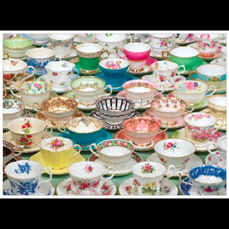 Teacups Puzzle 1000pc
