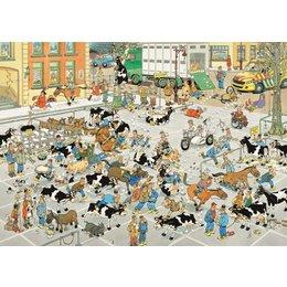 The Cattle Market Jan Van Haasteren Puzzle 1000pc