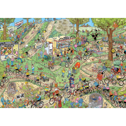 World Championship Cyclocross Puzzle 1000pc