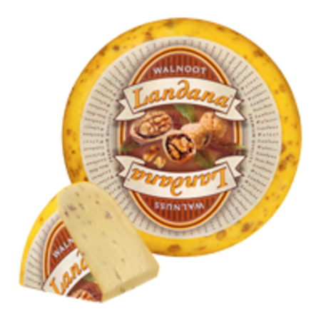 Landana Walnut Cheese Gouda
