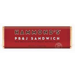 Hammond's PB&J Sandwich Milk Chocolate Bar