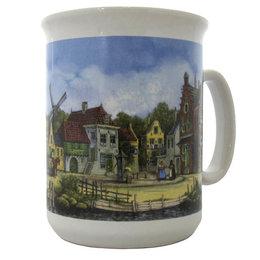 Dutch Amsterdam Houses Mug