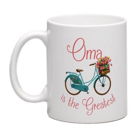 OMA IS THE GREATEST Mug