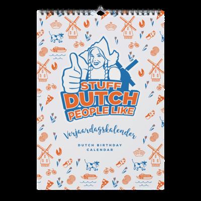 Stuff Dutch People Birthday Calendar