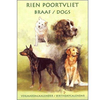 Rien Poortvliet Braaf Perpetual Birthday Calendar