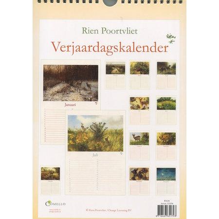 Rien Poortvliet Perpetual Birthday Calendar