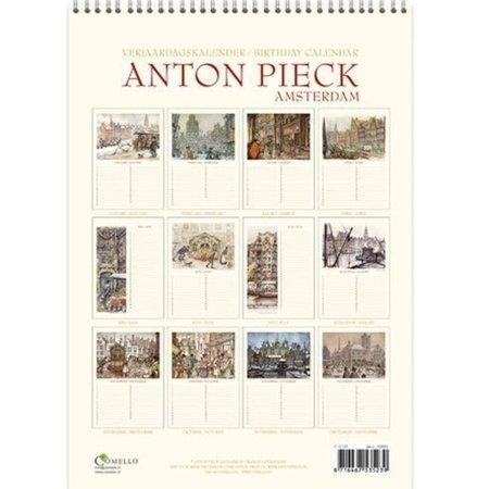 Anton Pieck Perpetual Birthday Calendar Amsterdam
