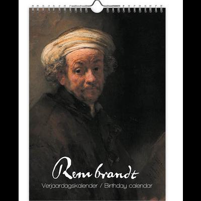 Rembrandt Perpetual Birthday Calendar