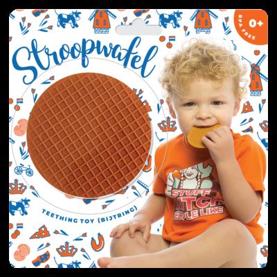Stroopwafel Teething Toy