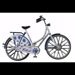 White Bike  Magnet