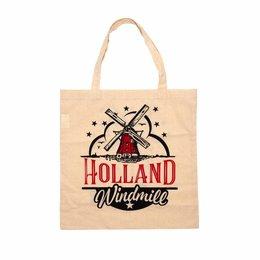 Holland Windmill Shopping Bag (Cotton)