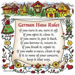 German House Rules