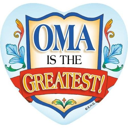 Oma Is The Greatest Heart Magnet