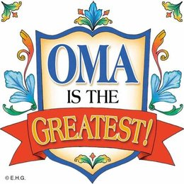 Oma Is The Greatest Shield Magnet