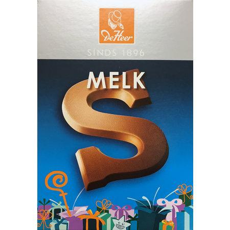 DeHeer Milk Chocolate Letter 65g