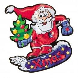 Storz Christmas Snowboard Santa