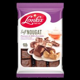 Lonka Soft Nougat Peanut & Milk Chocolate