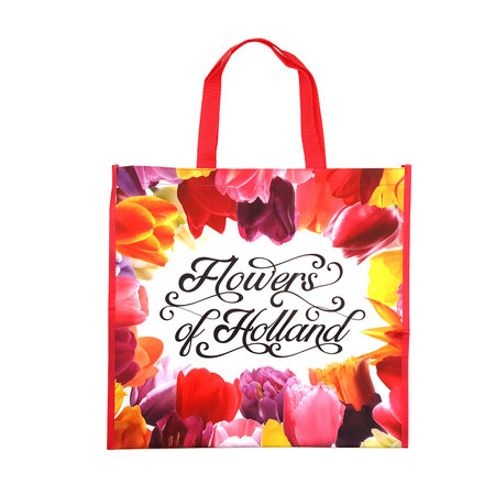 Flowers of Holland  Grocery Bag