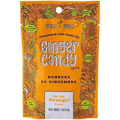 Gem Gem Ginger Candy Orange 100g
