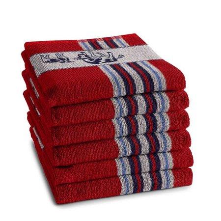 Hand Towel Red Friesian Cows DDDDD
