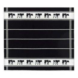 Tea Towel Black Frisian Cows DDDDD