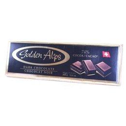 Golden Alps Swiss 74% Dark Chocolate 300g