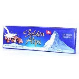 Golden Alps Swiss Milk Chocolate with Hazelnuts