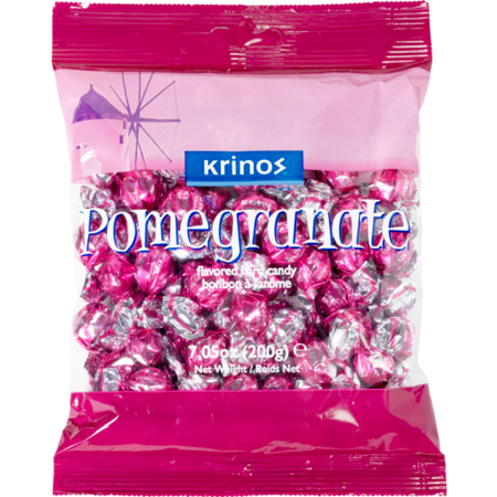 Krinos Pomegranate Candy 200g