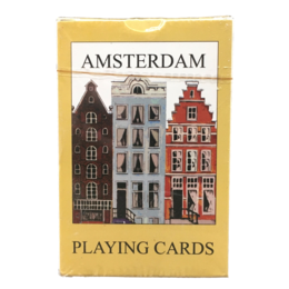 Canal Houses Amsterdam Playing Cards