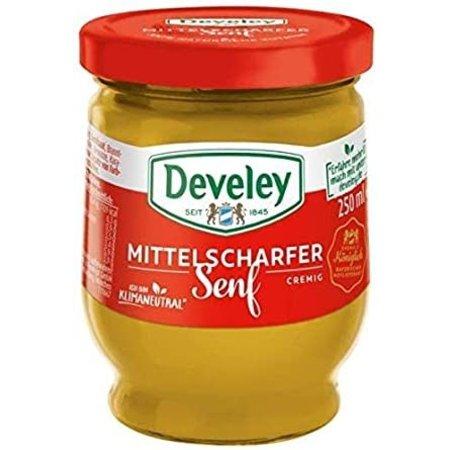 Develey Hot Bavarian Mustard