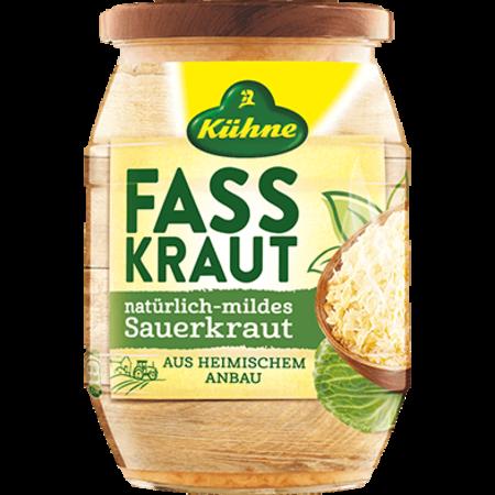 Kuhne Ready to serve Sauerkraut 720ml