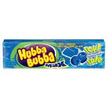 Hubba Bubba Sour Blue Raspberry Bubble Gum