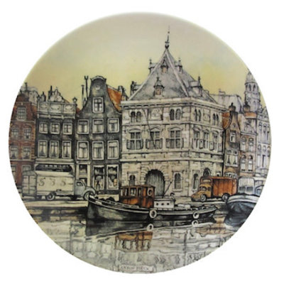 Anton Pieck Wall Plate Haarlem