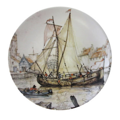 Anton Pieck Wall Plate Zierikzee