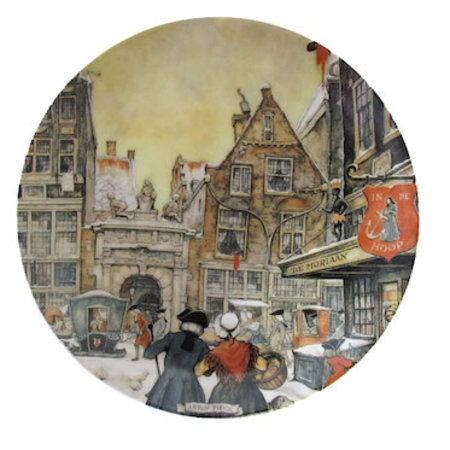 Anton Pieck Wall Plate Amsterdam
